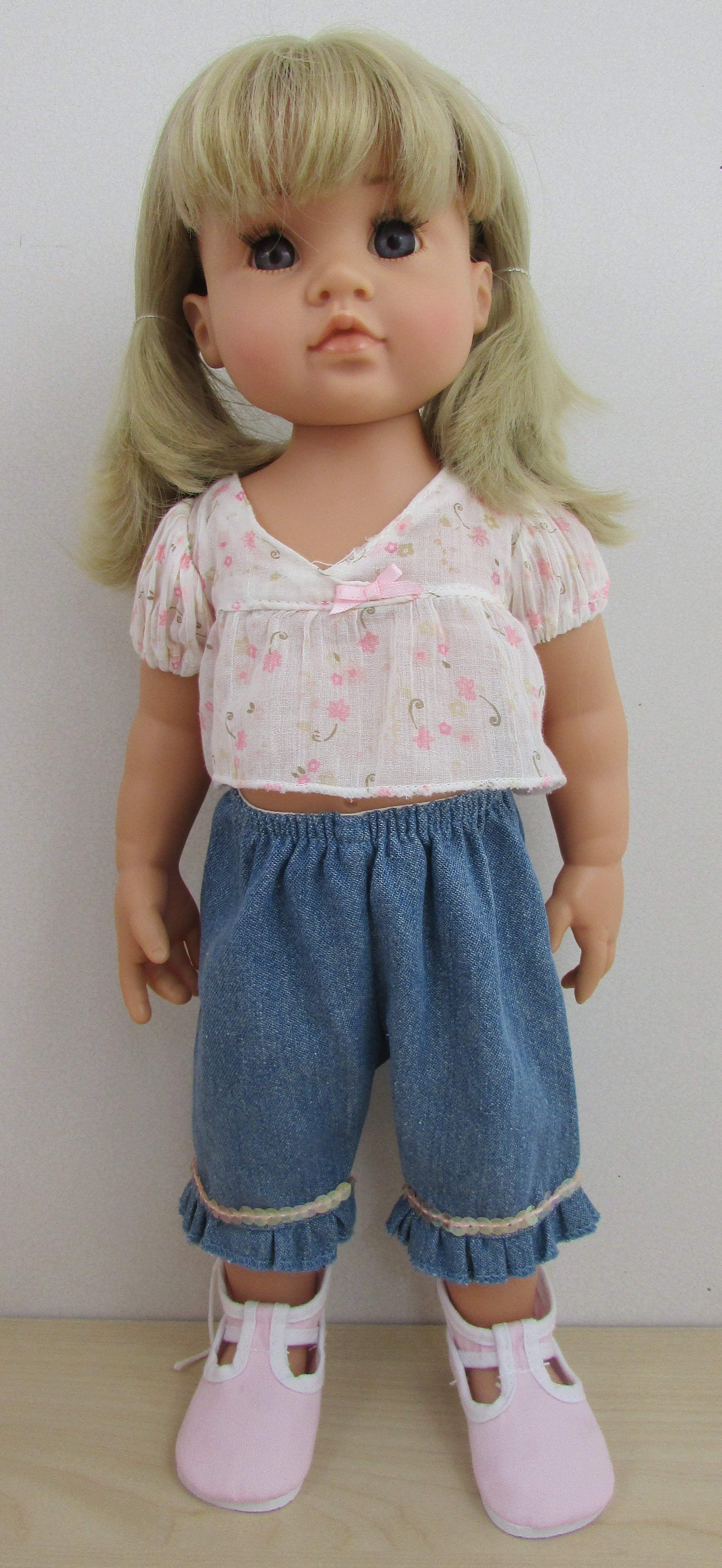 NIB Hildegard Gunzel Kinderland Gotz Collectible Doll